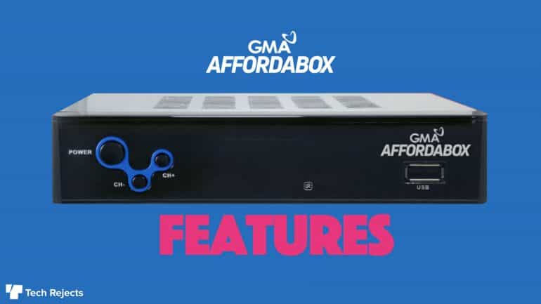 gma affordabox features